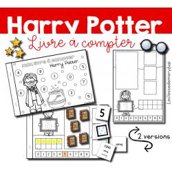 Mon livre à compter - Harry Potter