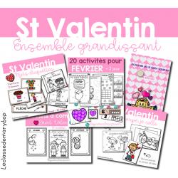 Saint Valentin - Ensemble grandissant