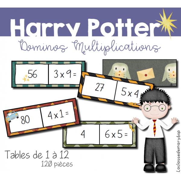 Harry Potter - Dominos multiplications