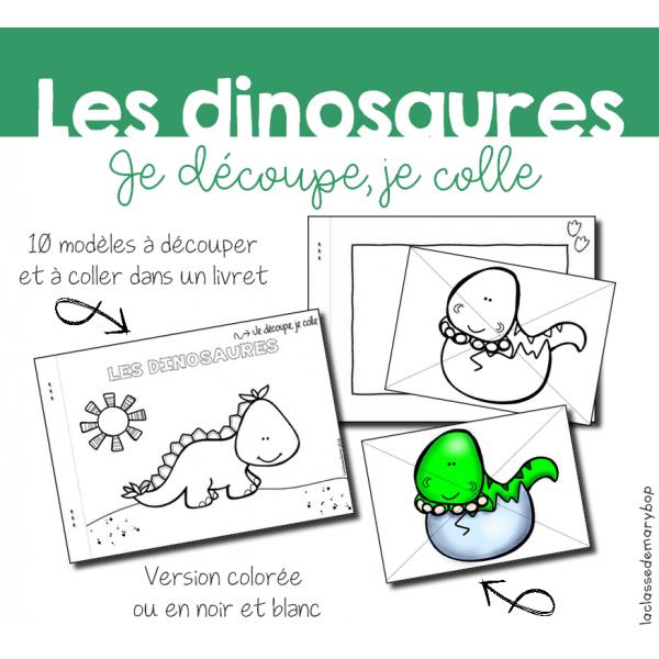 Atelier découpage - Dinosaures