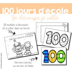 100 jours d´école - Atelier découpage