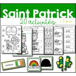 Cahier d´activités - La Saint Patrick