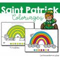 Saint Patrick - Coloriages