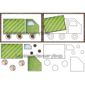 Les véhicules - 10 puzzles