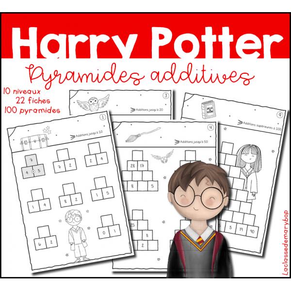 Harry Potter - Pyramides additives