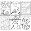 Cahier d´activités - Les escargots