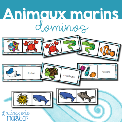 Animaux marins - Dominos