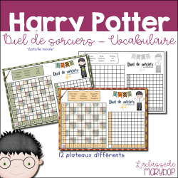 Duel de sorciers - Harry Potter - Vocabulaire