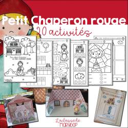 Cahier d´activités - Petit Chaperon rouge