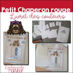 Le Petit Chaperon rouge - Livret des couleurs