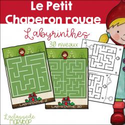 Petit Chaperon rouge - Labyrinthes - 30 niveaux