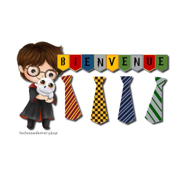 Harry Potter - Bannière et cravates