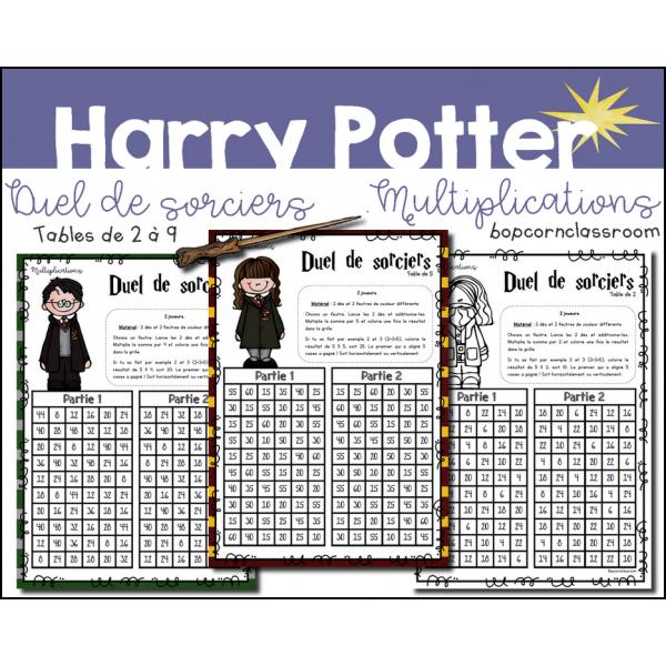 Duel de sorciers - Harry Potter - Multiplications