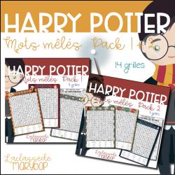 Harry Potter - Mots mêlés Pack 1 + 2