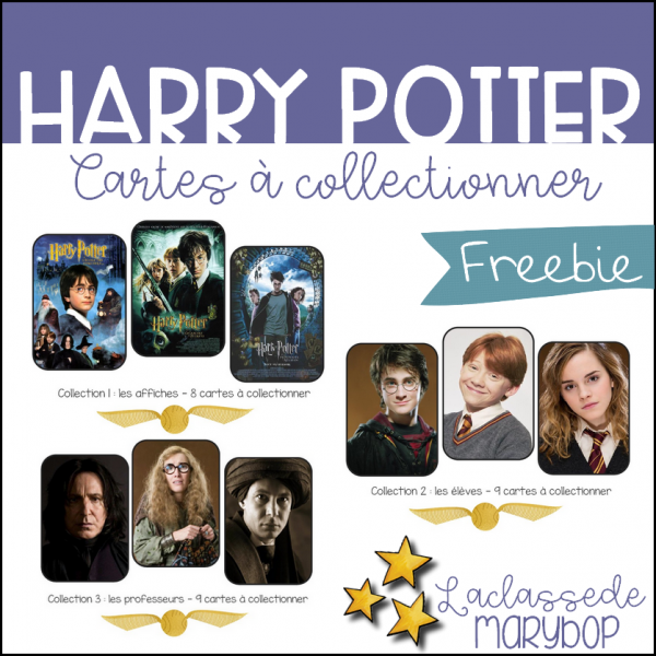 Harry Potter - Cartes à collectionner