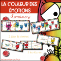 La couleur des émotions - Dominos