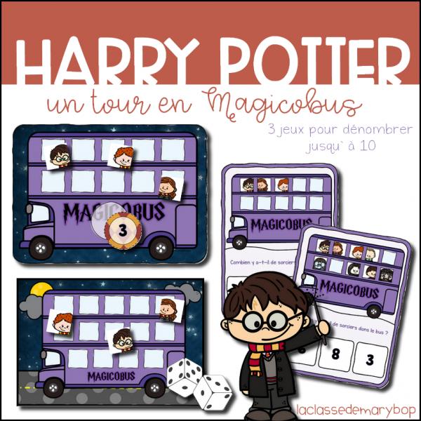 Harry Potter - Un tour en Magicobus