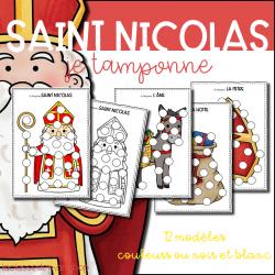 Saint Nicolas - Do a dot - Je tamponne