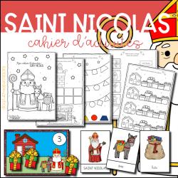 Cahier d´activités - Saint Nicolas
