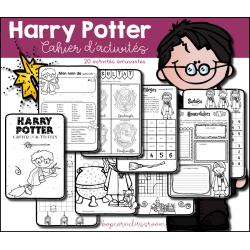 ★ Harry Potter - Cahier d´activités