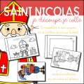 Saint Nicolas - Atelier découpage