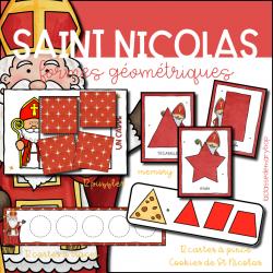 Saint Nicolas - Formes géométriques