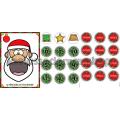 Le père Noël est gourmand - Les formes