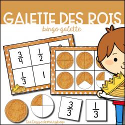 Galette des rois - Bingo Galette