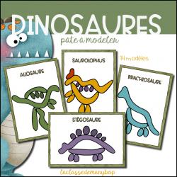 Dinosaures - Pâte à modeler