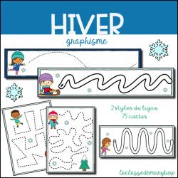 Graphisme Pistes Graphiques - Hiver