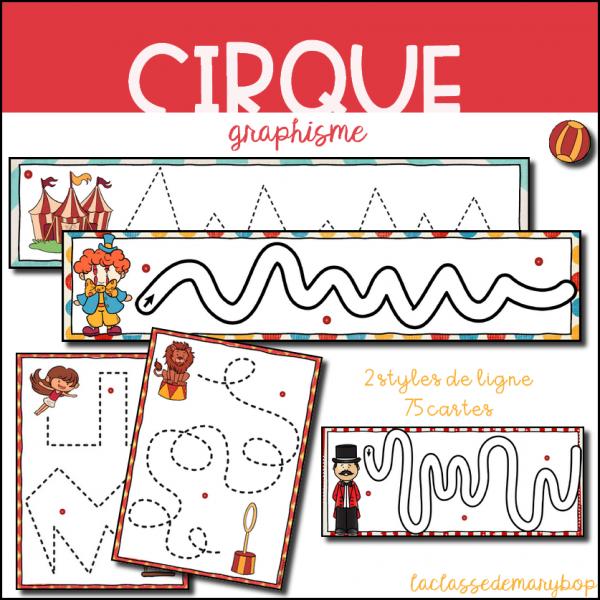 Graphisme Pistes Graphiques - Cirque