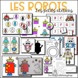 Les robots - Les petits ateliers