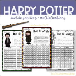 ★ Duel de sorciers Harry Potter Multiplications