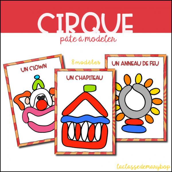 Cirque - Pâte à modeler