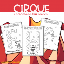 Cirque - Abécédaire à tamponner