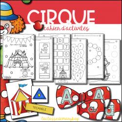 Cahier d´activités - Le cirque