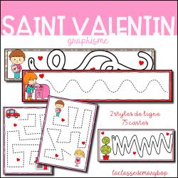 Graphisme Pistes Graphiques - Saint Valentin