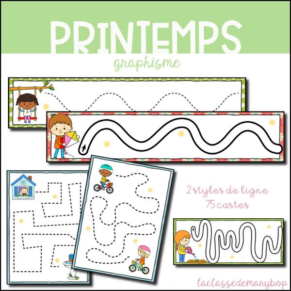 Graphisme Pistes Graphiques - Printemps