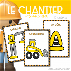Chantier / Construction - Pâte à modeler