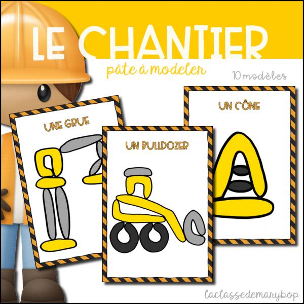 Chantier / Construction - Pâte à modeler