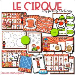 Le cirque - Les petits ateliers