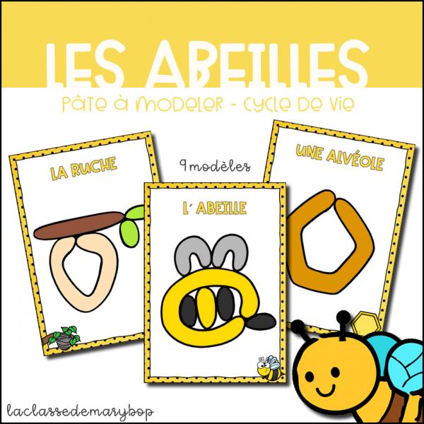 Les abeilles - Cycle de vie Pâte à modeler