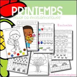 Le printemps - Fichier mathématiques Maternelle