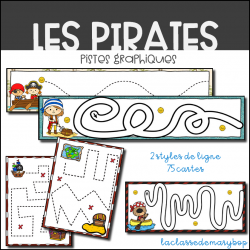 Pistes Graphiques - Les pirates