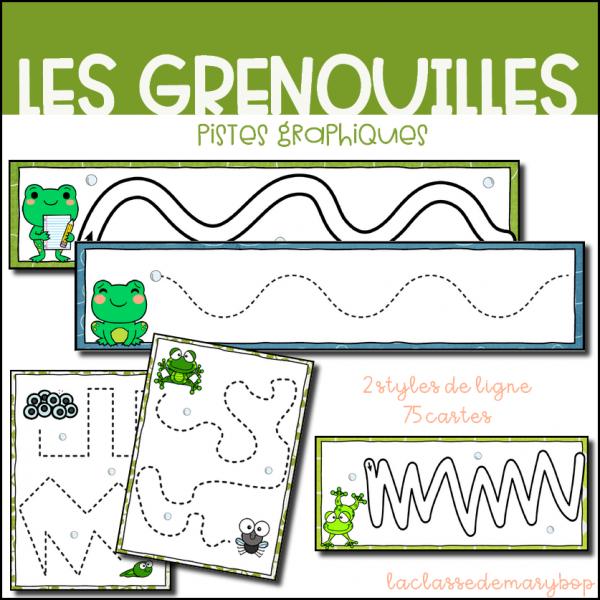 Pistes Graphiques - Les grenouilles