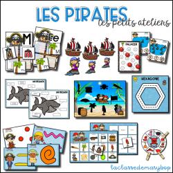 Les petits ateliers - Les pirates