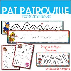 Pistes graphiques - Pat Patrouille
