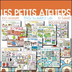 Les Petits Ateliers - Pack 1 - 100 activités