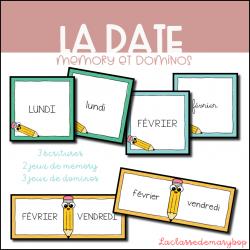 La date - Memory et dominos