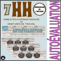 7 HABILETÉS D'APPRENTISSAGE-HABITUDES DE TRAVAIL